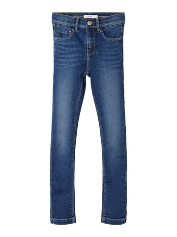 Name it Girls Stretch Denim High Waist Jeans