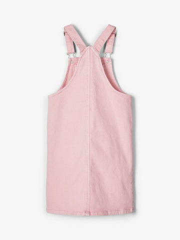Name it Girls Twill Cotton Pinafore Dress
