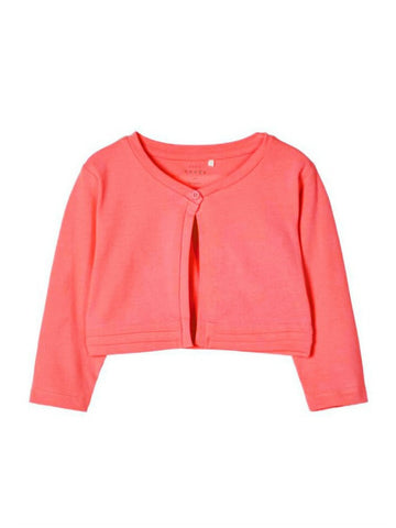 Name it Mini Girl Coral Bolero with 3/4 Length Sleeves