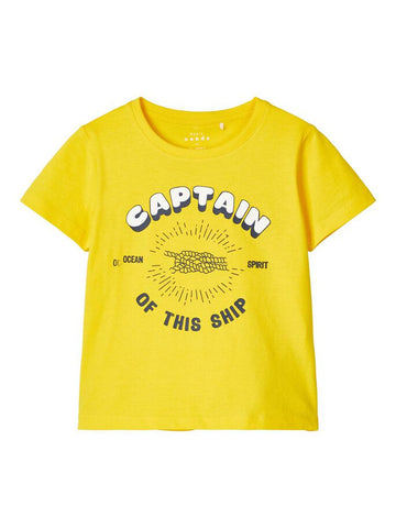 Name it Toddler Boy Yellow T-Shirt