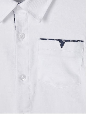 Name it Mini Boy Smart Formal White Shirt