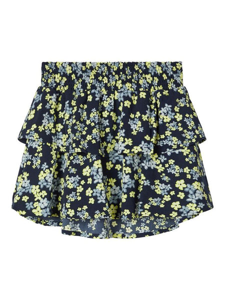 Name it Girls Short Floral Skirt