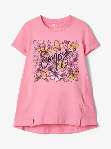 Name it Mini Girl Short Sleeve Tunic Top