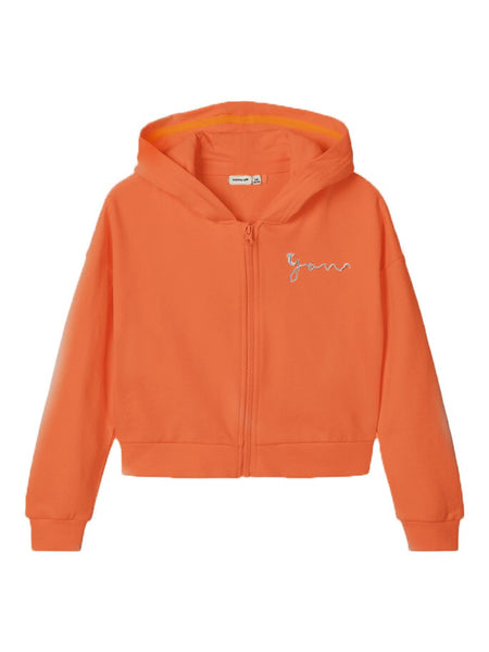 Name it Girls Zip-Up Hooded Sweat Top