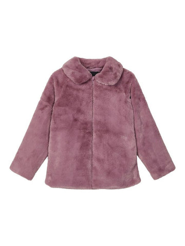 Name it Mini Girl Faux Fur Jacket