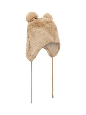 Name it Faux Fur Teddy Bear Winter Hat