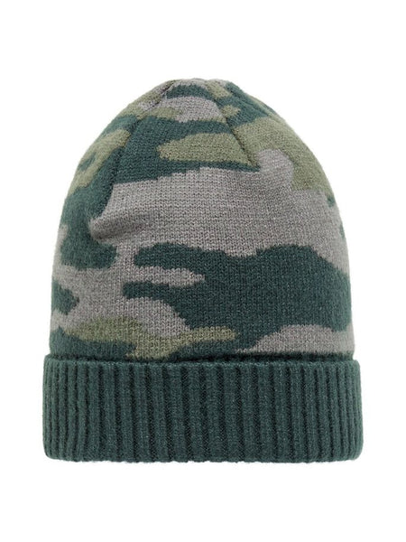 Name it Boys Knitted Beanie Camouflage Hat