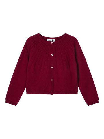 Name it Mini Girl Short Knitted Cardigan