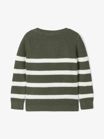Name it Toddler Boy Knitted Striped Jumper