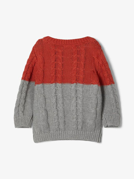 Name it Baby Boy Cable Knit Jumper