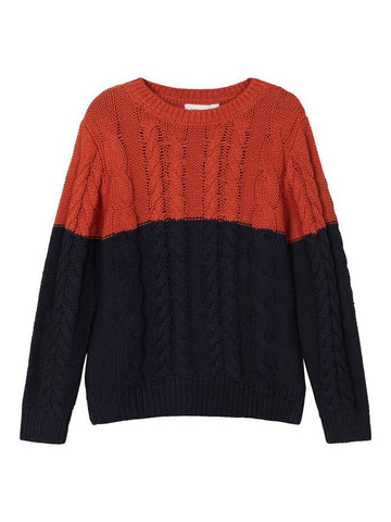 Name it Toddler Boy Cable Knit Jumper