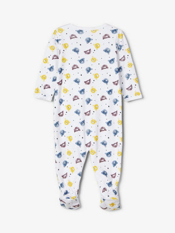 Name it Baby Boy 2-Pack Teddy Bear Print  Babygrows / Nightsuit