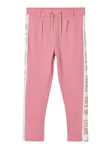 Name it Mini Girl Cosy Sweat Pants with Adjustable Waist
