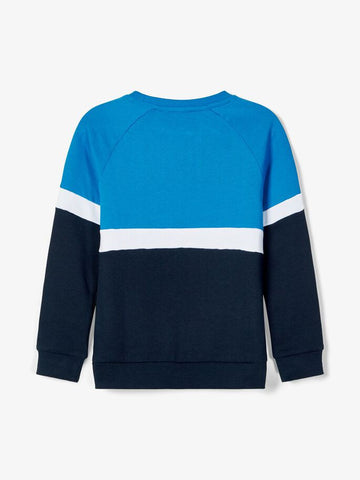 Name it Boys Blue Crew Neck Sweatshirt