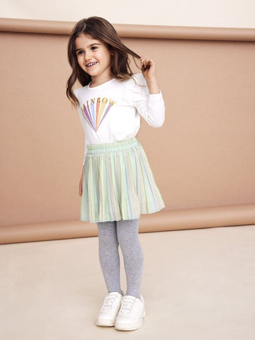 Name it Mini Girl Multi-Colour Pleat Skirt