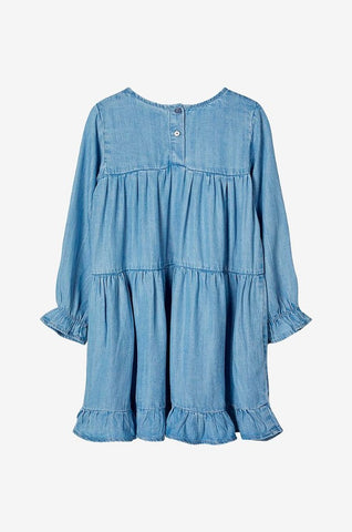 Name it Mini Girl Lightweight Denim Dress