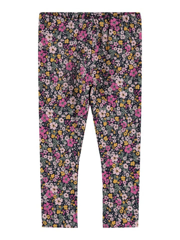 Name it Mini Girl Floral Cotton Leggings