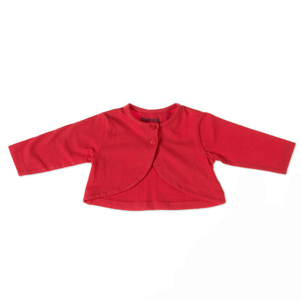 Baby Girl Cotton Bolero by Babybol