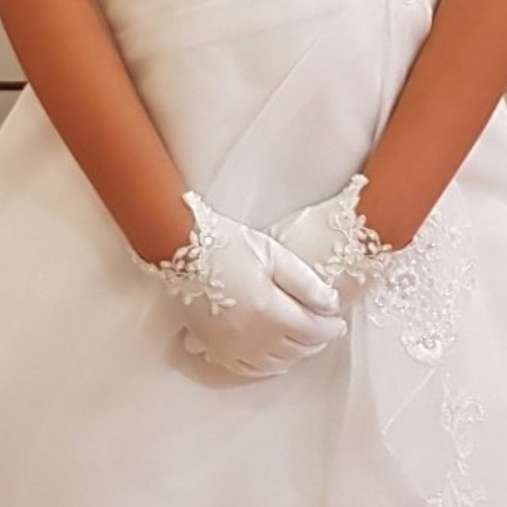 First Holy Communion Glove 752