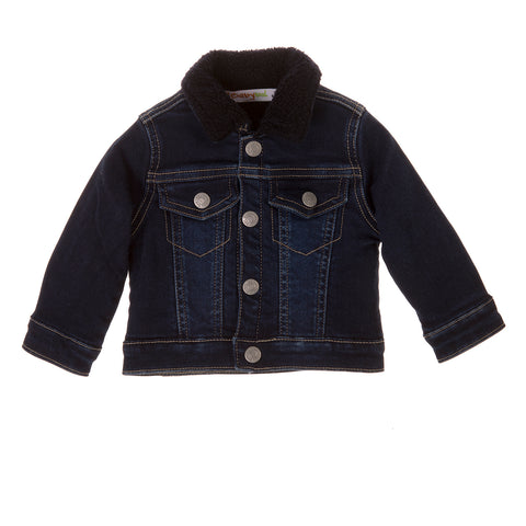 BabyBol Baby Boy Dark Denim Jacket