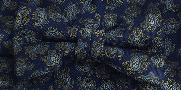 Zazzi Boys  Bow Tie with Paisley Pattern