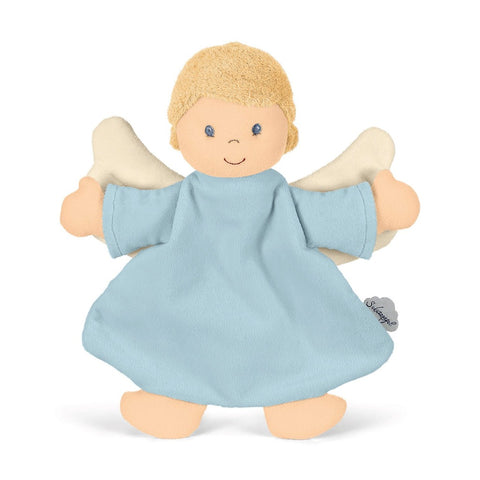 Blue Guardian Angel Cuddle Cloth Comforter