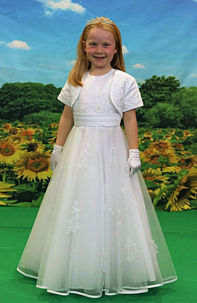 Girls IDALIA Communion Dress
