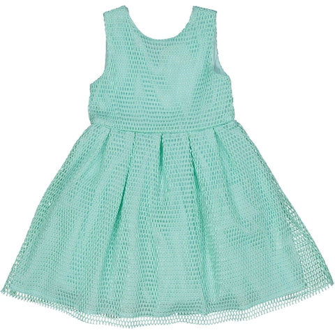 Try Beyond Girls Mint Sleeveless Dress