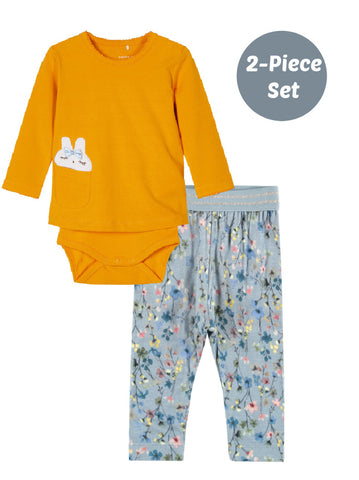 Name it Baby Girl 2-Piece Bunny Set