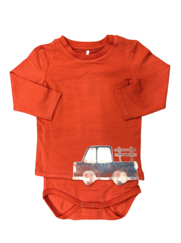 Name it Baby Boy Organic Cotton Car Body Suit