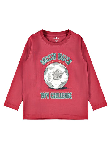 Name it Mini Boy Long Sleeved Graphic Top