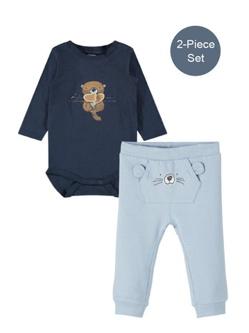 Name it Baby Boy 2-Piece Body Top and Pants Set