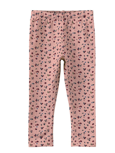 Name it Mini Girls Printed Winter Legging with Brushed Inner