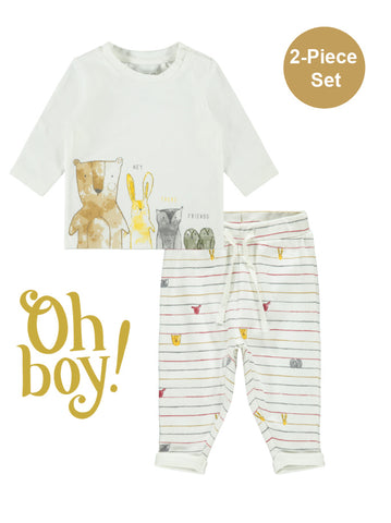 Name it Baby Boy 2-Piece Top and Pants Set