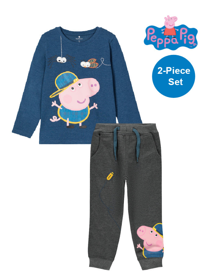 Name it Boys Peppa Pig Blue 2-Piece Set