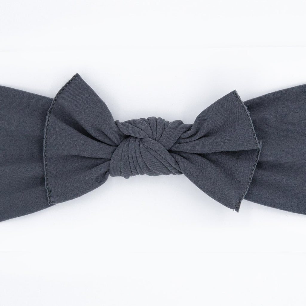 Little Bow Pip Charcoal Pippa Bow Hairband