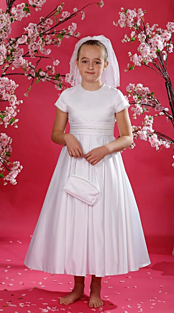 Girls Communion Dress Bergamot