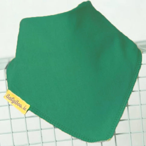 Babyboo Bandana Bib in Solid Green