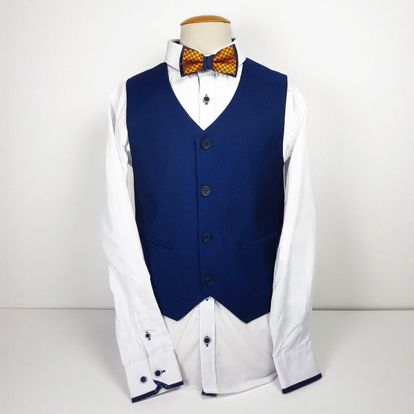 Creon Previs Ford Boys waistcoat & shirt