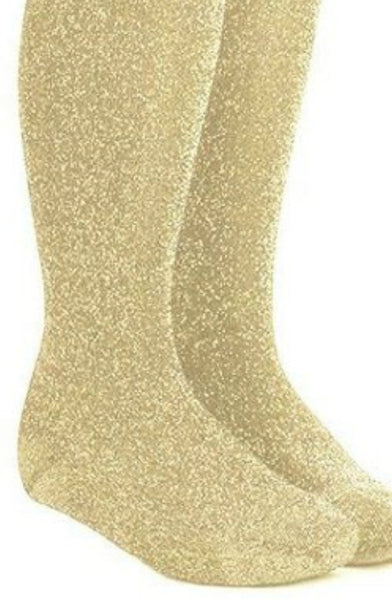 Name it Girls Gold Glitter Tights