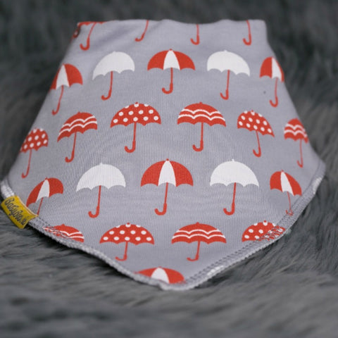 Babyboo Bandana Bib in Umbrella Print