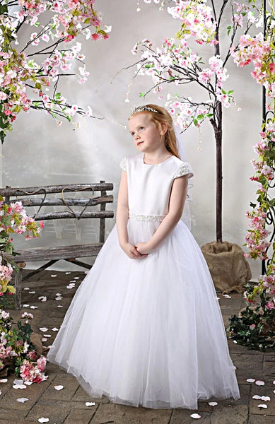Girls Communion Dress Hollyhock by Celebrations