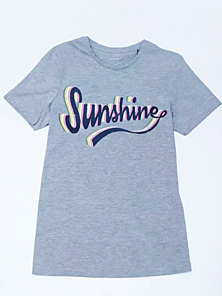 Name it Girls Short-Sleeved Printed Graphic T-Shirt