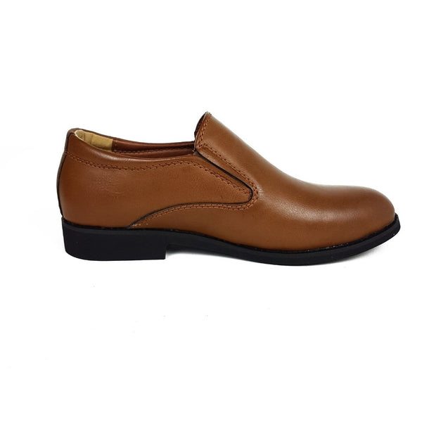 Tan Slip on Communion Shoes