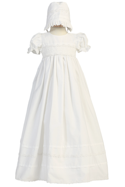 Unisex Cotton Christening gown