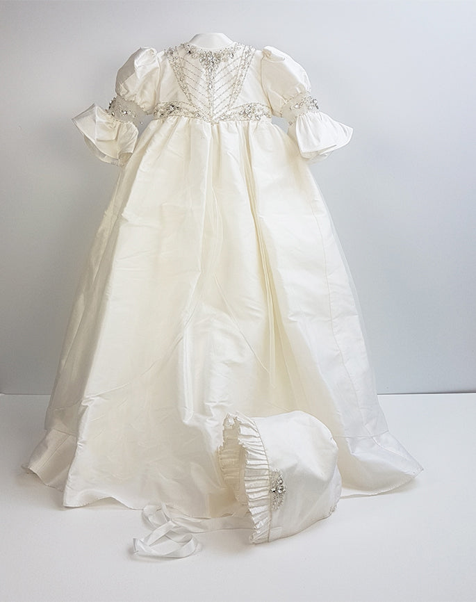 Sweetie Pie Silk Christening Gown from Couture Collection