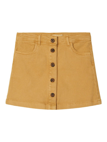 Name it Girls Twill Cotton Mini Skirt