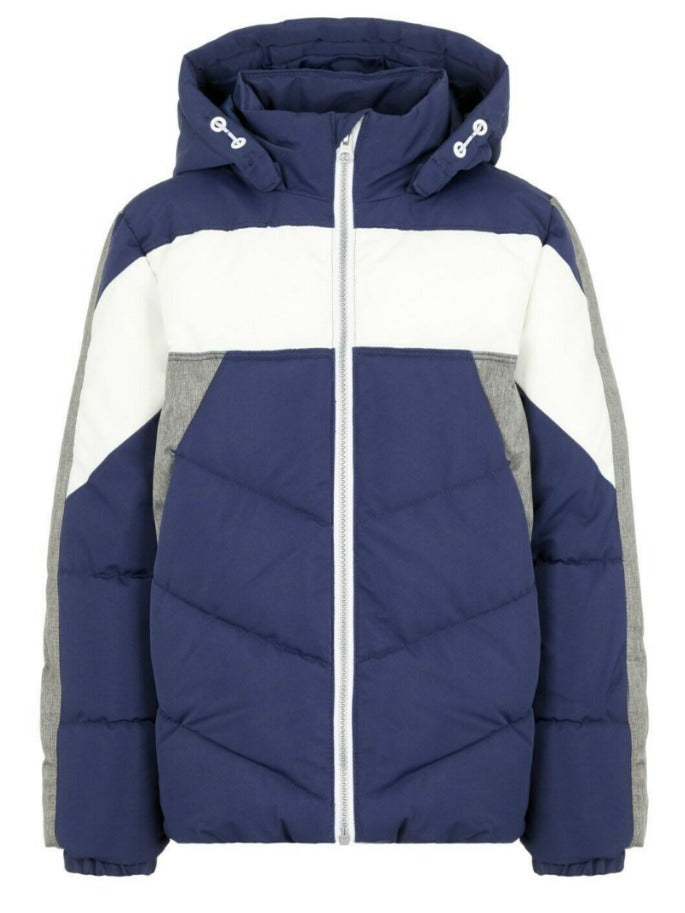 Name it Boys Navy and Grey Winter Puffer Jacket