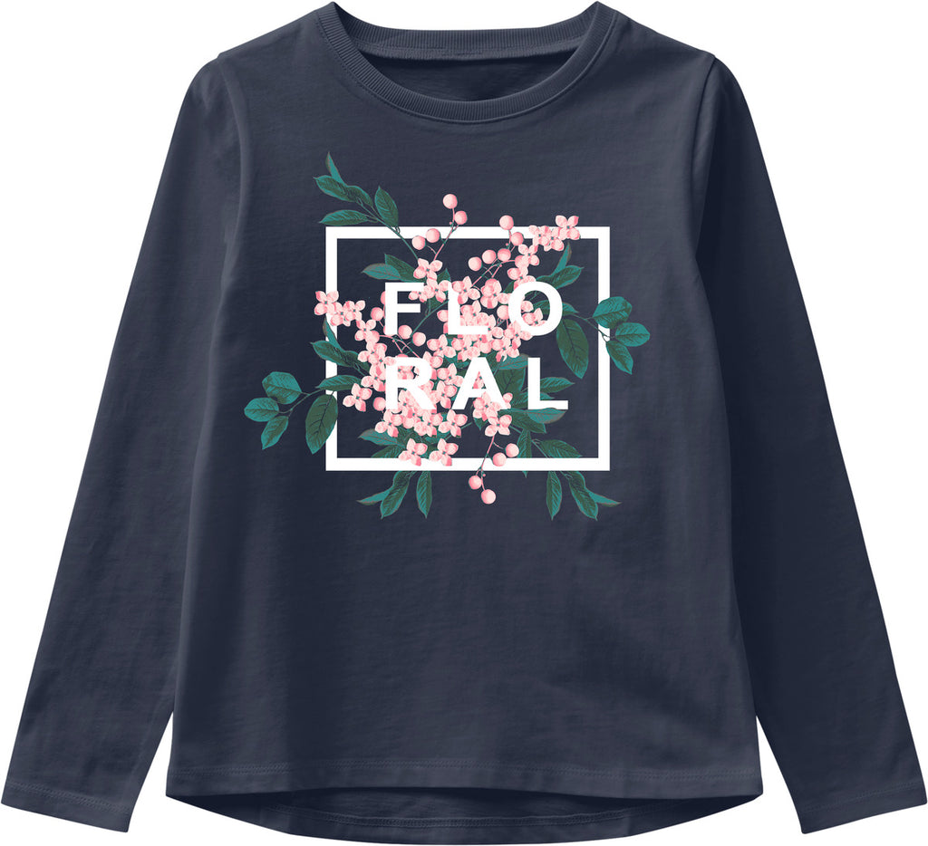 Name it Girls Graphic Print Long Sleeved Top