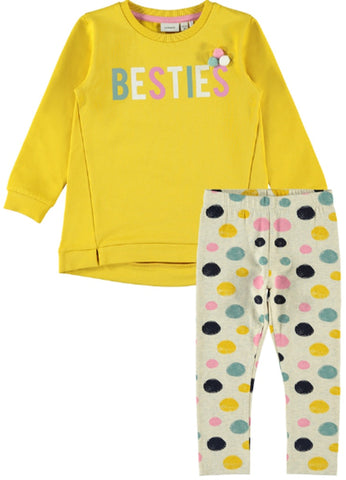 Name it Girls 2-Piece Tunic Top and Legging Set